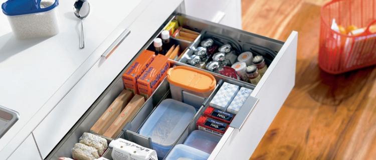 Полезная информация при выборе кухни. Выдвижные ящики.